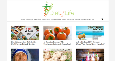 Publish A Guest Post On Traffic Health DietofLife.com DA 45