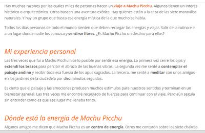 Write Spanish Blog Post