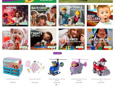Design and develop a WordPress (E-Commerce) Store