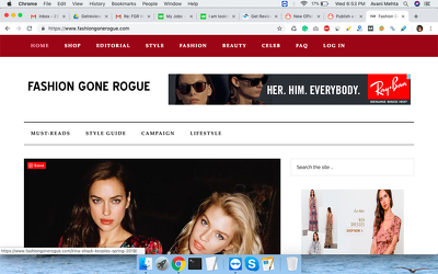 Publish a Guest Post on Fashiongonerogue.com - DA 82