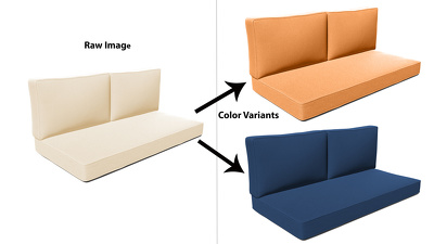 Change color of an image with color variants (Color Correction)