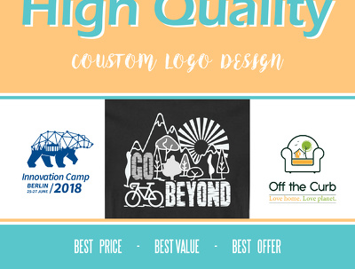 Create a High-Quality Logo Design With Ultimate Revisions
