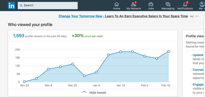 increase LinkedIn engagement by endorsing 200 contacts