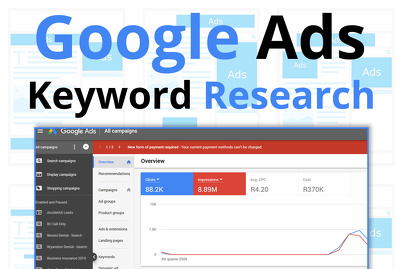 Do high quality manual Google ads keyword research for you