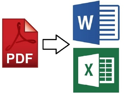 Convert, edit / retype PDF file having up to 20 pages to MS Word