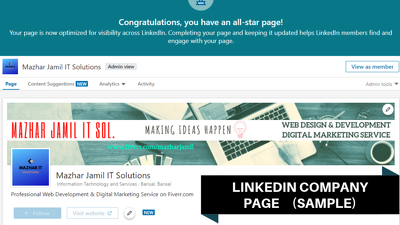 Create An Effective LinkedIn Company Page