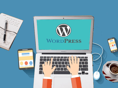 Work on your Word-press website for 1 hour !