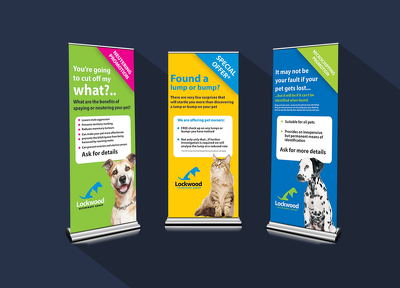 Design your banner or exhibition stand
