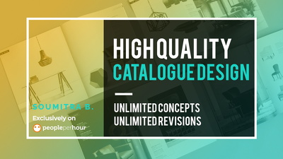 Design your high quality catalogue