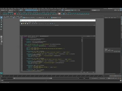 Write MEL script to automate repetitive tasks in Maya