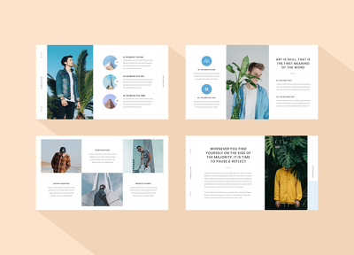 Design your pitch deck, powerpoint or keynote presentation