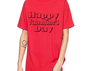 Create Valentines Day T-shirt Before 24 hours