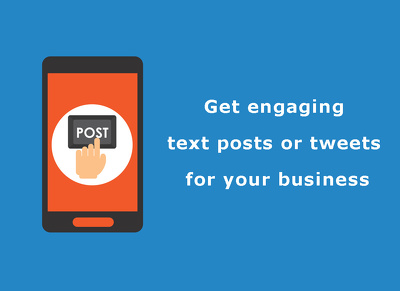 Create 15 engaging text posts or tweets for your business
