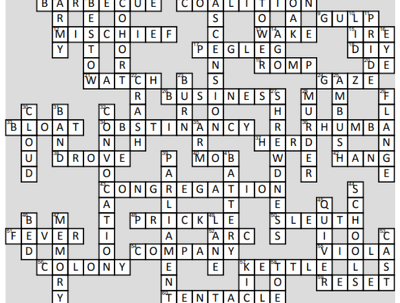 Create ready-to-print custom crossword