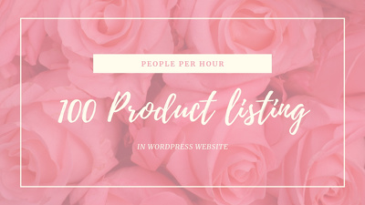 Upload 100 products_WordPress Site