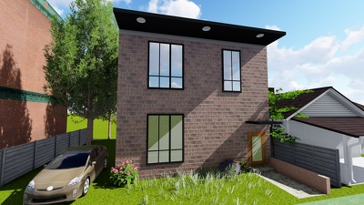 Render realistic exterior architecture models