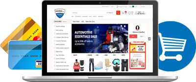 Develop e-commerce website using ASP.net core