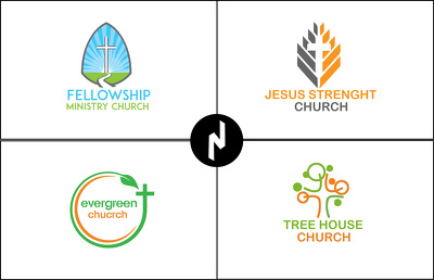 DESIGN MODERN MINISTRY OR CHURCH LOGO IN 24 HOURS