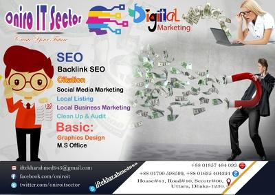 Setup 100 Social Profile For Your Business Website