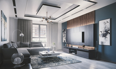 Create Photorealistic 3d Rendering For interior design