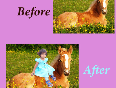 Edit and retouch an image for you