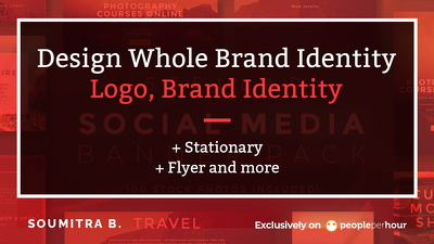 Build whole brand identity,Logo,guidelines,Stationery, flyer