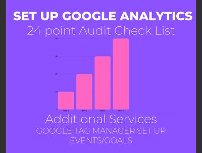 Set Up Google Up Google Analytics/ Google Analytics Audit