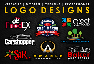 Do 3 logo concepts with free vector file