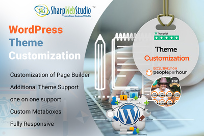 Wordpress website / theme customization