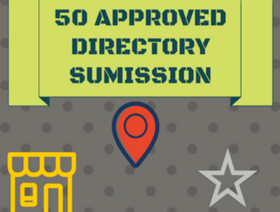 Submit Live 50 Approved Effective Directory Submission backlinks