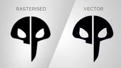 Turn any rasterised (jpg or png) logo file into a vector