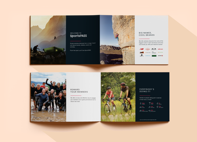 Design your pitch deck, magazine, folder or brochure