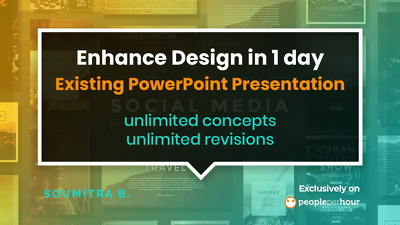 Enhance your existing power point presentation in 1 day