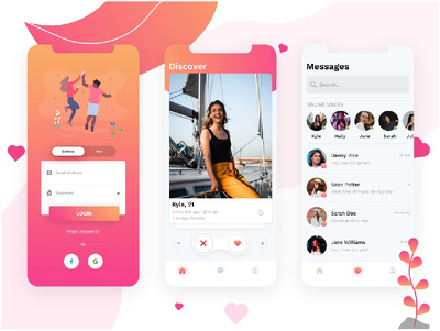 Do Aesthetic Interactive UI Prototype Design For Mobile And Web
