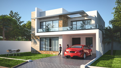 Provide Exterior Rendering /Visualization