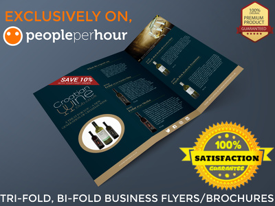 Design your flyer/brochure, leaflet, poster, in 24 hrs