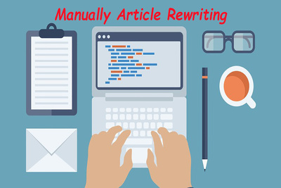 Rewrite Your Article & Make Correction