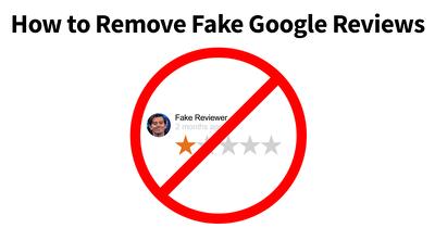 Fix google my business negative reviews