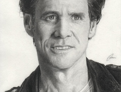 Draw an extremely detailed A4 pencil portrait of an individual