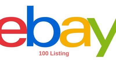 Offering 100 Ebay Listing