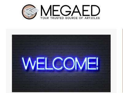 Place an Guest Post on Megaedd.com - DA62, TF40, Dofollow link
