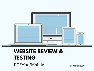 Website Review & Testing On PC/Mac/Mobile