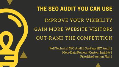 SEO Audit - Ensure you meet 2019 SEO Best Practises