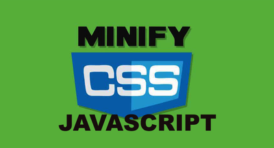 Do Minify Your Css And Javascript File