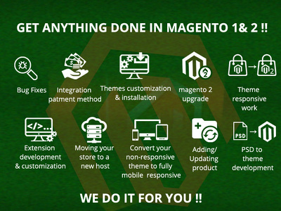 Give hourly HELP on Magento 1, 2,2.3 small tasks & Bug Fixing