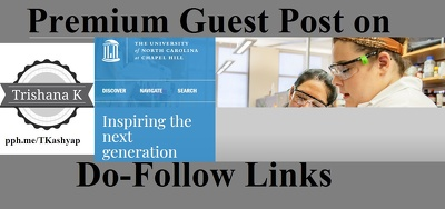 EDU post on University of North Carolina UNC.edu DA 91 Education