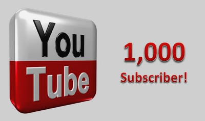 get 1000 Genuine Subscriber to Your YouTube Channel