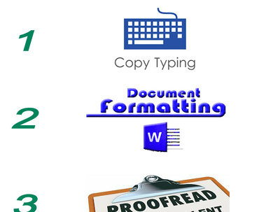 Copy Type, Format and Proofread ( 3-in-1 offer) for 2000 words