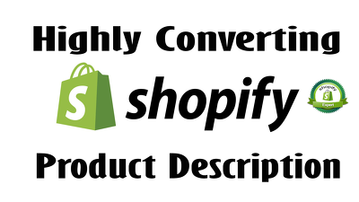 Write Persuasive Product Descriptions For Your Shopify Store
