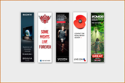 I will create Set of 3 HTML5 Animated Banner Ads.